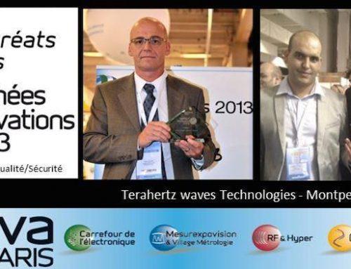 Trophée de l'innovation pour Terakalis…