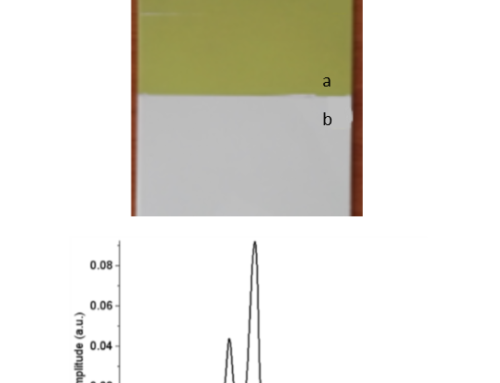 (English) Thickness measurement of multilayer coating on carbon-epoxy composite