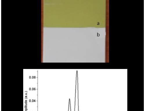 Mesure d'épaisseur d'un carbone-epoxy avec coating multicouche