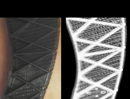 Contrôle de défauts sur matériau composite à renforts tissés